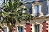 France, Aquitaine, Pyrénées-Atlantiques, Pays Basque, Biarritz: Place  Georges Clémenceau //  France, Pyrenees Atlantiques, Basque Country, Biarritz:  Georges Clémenceau square