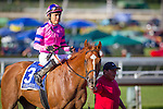 ARCADIA, CA - MAY 22:  Second Summer #3, ridden by Mario Gutierrez wins the Grade II Californian Stakes at Santa Anita Park on May 22, 2016 in Arcadia, California. (Photo by Zoe Metz/Eclipse Sportswire/Getty Images)