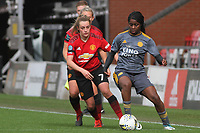 Ella Toone (Manchester United Women) during the English Womens Championship match between Manchester United Women and Leicester City Women at Leigh Sports Village, Leigh, England on 10 March 2019. Photo by James Gill / PRiME Media Images.