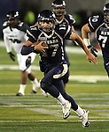 Nevada quarterback Cody Farjardo runs for a touchdown against Hawaii in the third quarter of an NCAA football game in Reno, Nev., on Saturday Nov. 12, 2011. (AP Photo/Cathleen Allison)