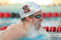 7 November 2007: Chris Ash during Stanford's win over California in the Big Meet at the Avery Aquatic Center in Stanford, CA.