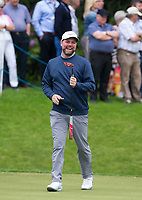 Brian McFadden (Singer / Songwriter) during the BMW PGA PRO-AM GOLF at Wentworth Drive, Virginia Water, England on 23 May 2018. Photo by Andy Rowland.