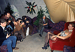MAFALDA D'AOSTA CON I FOTOGRAFI<br /> COMPLEANNO MAFALDA D'AOSTA      ALIEN CLUB  ROMA 1993