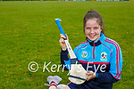 Kate Lynch Glenflesk who has been selected for the Kerry Camogie team