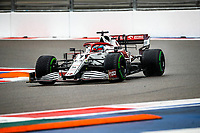 25th September 2021; Sochi, Russia; F1 Grand Prix of Russia  qualifying sessions;  07 RAIKKONEN Kimi fin, Alfa Romeo Racing ORLEN C41