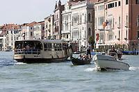 Veduta del Canal Grande a Venezia.<br /> View of the Grand Canal, in Venice.<br /> UPDATE IMAGES PRESS/Riccardo De Luca