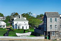 Old Sculpin Gallery, Edgartown, Martha's Vineyard, Massachusetts, USA