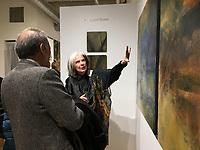 Betsyann Duval Opening Bromfield Gallery 3.1.19
