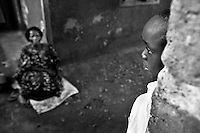 After losing his parents to AIDS, a boy has to live with his grandmother in Kampala, Uganda on April 15, 2001. More than 13 million African children who have been orphaned by the the AIDS pandemic. Worldwide, more than 20 million people have died since the first cases of AIDS were identified in 1981.
