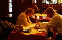 Norwegen, Oslo, Restaurant Schrøder, Waldemar Thranes Gate 8
