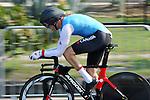 Tristen Chernove, Rio 2016 - Para Cycling // Paracyclisme. <br /> Tristen Chernove wins gold in the Para Cycling Time Trial Men's C2 // Tristen Chernove remporte la médaille d'or au contre-la-montre masculin de paracyclisme C2. 14/09/2016.