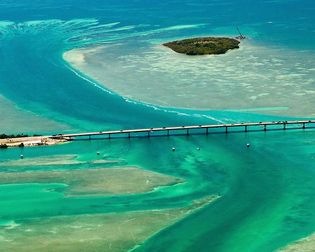 Florida Keys Aerials Indian Key in the Florida Keys