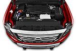 Car Stock 2021 Nissan Titan-XD Platinum-Reserve 4 Door Pick-up Engine  high angle detail view