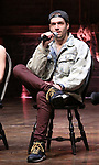 "Ryan Vasquez from the 'Hamilton' cast during a Q & A before The Rockefeller Foundation and The Gilder Lehrman Institute of American History sponsored High School student #EduHam matinee performance of ""Hamilton"" at the Richard Rodgers Theatre on June 6, 2018 in New York City."