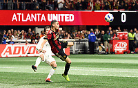 Atlanta, Georgia - Saturday, December 8, 2018. Atlanta United defeated the Portland Timbers, 2-0, in front of an MS Cup record crowd of 73,019 at Mercedes-Benz Stadium.