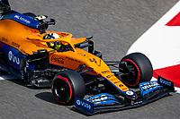 26th March 2021; Sakhir, Bahrain; F1 Grand Prix of Bahrain, Free Practice sessions;  04 NORRIS Lando (gbr), McLaren MCL35M, action during Formula 1 Gulf Air Bahrain Grand Prix 2021