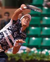 France, Paris, 01.06.2014. Tennis, French Open, Roland Garros, Tomas Berdych (CZE)  <br /> Photo:Tennisimages/Henk Koster