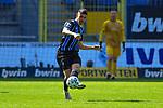 Waldhofs Gerrit Gohlke (Nr.27) am Ball beim Spiel in der 3. Liga, SV Waldhof Mannheim - FSV Zwickau.<br /> <br /> Foto © PIX-Sportfotos *** Foto ist honorarpflichtig! *** Auf Anfrage in hoeherer Qualitaet/Aufloesung. Belegexemplar erbeten. Veroeffentlichung ausschliesslich fuer journalistisch-publizistische Zwecke. For editorial use only. DFL regulations prohibit any use of photographs as image sequences and/or quasi-video.