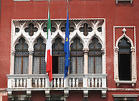 Grand palazzo windows once showcased merchants' wares to ships from the Far East and Europe.