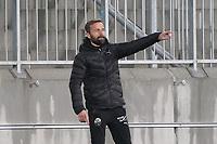 Trainer Michael Schiele (SV Sandhausen)<br /> <br /> - 27.01.2021 Fussball 2. Bundesliga, Saison 20/21, Spieltag 18, SV Darmstadt 98 - SV Sandhausen, Stadion am Boellenfalltor, emonline, emspor, <br /> <br /> Foto: Marc Schueler/Sportpics.de<br /> Nur für journalistische Zwecke. Only for editorial use. (DFL/DFB REGULATIONS PROHIBIT ANY USE OF PHOTOGRAPHS as IMAGE SEQUENCES and/or QUASI-VIDEO)