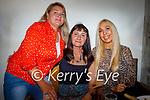 Enjoying the evening in Bella Bia  on Saturday, l to r: Inga Hobbert, Violetta Grebliuniene and Edite O'Leary.