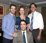 (clockwise from top left) Will Aronson, Grace McLean and Bob Stillman pose for photos with 2013 Kleban Prize winner Daniel Mate attending the 23rd Annual Kleban Prize Reception at ASCAP on June 24, 2013 in New York City.