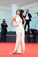 VENICE, ITALY - SEPTEMBER 02: Paola Turani walks the red carpet ahead of the Opening Ceremony and the Lacci red carpet during the 77th Venice Film Festival at on September 02, 2020 in Venice, Italy. PUBLICATIONxNOTxINxUSA Copyright: xAnnalisaxFlori/MediaPunchx <br /> ITALY ONLY