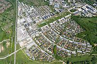 Der Hochschulstadtteil befindet sich im Süden Lübecks auf den ehemaligen Flächen des Gutes Strecknitz und grenzt nach Osten unmittelbar an das Gelände der Universität sowie nach Norden hin an die Technische Hochschule. Die Bundesstraße 207 begrenzt das Gebiet nach Westen. Nach Süden bildet der Lübecker Landgraben als Landschaftsschutzgebiet die natürliche Grenze des ab 2004 errichteten Wohnviertels.