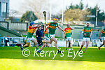 during the Joe McDonagh hurling cup fourth round match between Kerry and Carlow at Austin Stack Park on Saturday.