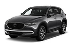 2017 Mazda CX-5 Grand Touring 5 Door SUV angular front stock photos of front three quarter view