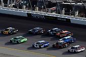 #37: Chris Buescher, JTG Daugherty Racing, Chevrolet Camaro Kroger Fast Start and #18: Kyle Busch, Joe Gibbs Racing, Toyota Camry Interstate Batteries