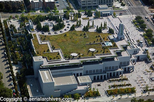 aerial photograph LDS Conference Center Salt Lake City, Utah