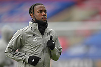 Joshua Onomah of Fulham warms up before the Premier League behind closed doors match between Crystal Palace and Fulham at Selhurst Park, London, England on 28 February 2021. Photo by Vince Mignott / PRiME Media Images.