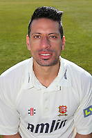 Saj Mahmood of Essex CCC in LV County Championship Kit - Essex County Cricket Club Press Day at the Essex County Ground, Chelmsford, Essex - 02/04/13 - MANDATORY CREDIT: Gavin Ellis/TGSPHOTO - Self billing applies where appropriate - 0845 094 6026 - contact@tgsphoto.co.uk - NO UNPAID USE.