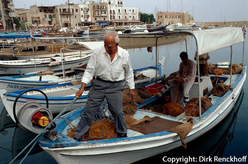 Nordzypern, Fischer in Girne
