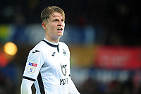 George Byers of Swansea City during the Sky Bet Championship match between Swansea City and Millwall at the Liberty Stadium in Swansea, Wales, UK. Saturday 23rd November 2019