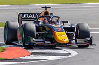 16th July 2021; Silverstone Circuit, Silverstone, Northamptonshire, England; F2 British Grand Prix, Free Practice; Liam Lawson in his Hitech Grand Prix Dallara F2 2018