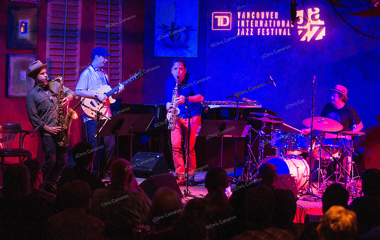 Human Feel at Ironworks, June 29, 2014 TD Vancouver International Jazz Festival