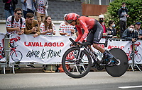 Nairo Quintana (COL/Arkéa Samsic)<br /> <br /> Stage 5 (ITT): Time Trial from Changé to Laval Espace Mayenne (27.2km)<br /> 108th Tour de France 2021 (2.UWT)<br /> <br /> ©kramon