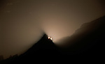 Sunrise above Baltoro Glacier, Pakistan