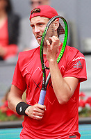 Lucas Pouille, France, during Madrid Open Tennis 2018 match. May 7, 2018.(ALTERPHOTOS/Acero) /NortePhoto.com