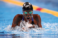 Chade Mari Nersicio CRC (born in 2001) is one of the youngest swimmers of the champinships <br /> Women's 100m breaststroke heats<br /> Swimming<br /> 15th FINA World Aquatics Championships<br /> Barcelona 19 July - 4 August 2013<br /> Palau Sant Jordi, Barcelona (Spain) 29/07/2013 <br /> © Giorgio Perottino / Deepbluemedia.eu / Insidefoto