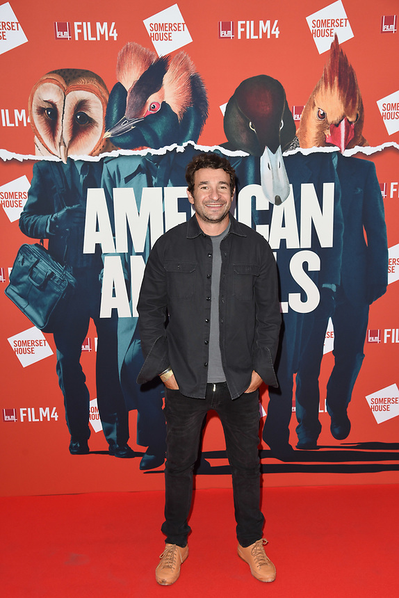 """Bart Layton<br /> arriving for the premiere of """"American Animals"""" screening at Somerset House, London<br /> <br /> ©Ash Knotek  D3425  22/08/2018"""