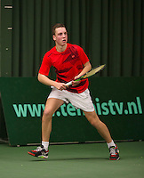 Rotterdam, The Netherlands, March 19, 2016,  TV Victoria, NOJK 14/18 years, Stijn Janssen (NED)<br /> Photo: Tennisimages/Henk Koster