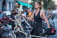 2016/08/26 Berlin | Fahrrad Sit-In & Critical Mass