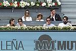 Svetlana Kuznetsova V Petra Kvitova in Madrid, Spain. May 09, 2015. (ALTERPHOTOS/Victor Blanco)