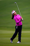 Yuting Shi of China in action during the Hyundai China Ladies Open 2014 on December 12 2014 at Mission Hills Shenzhen, in Shenzhen, China. Photo by Li Man Yuen / Power Sport Images