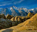 Alabama Hills, Lone Pine Peak, Inyo National Forest, Eastern Sierra, California