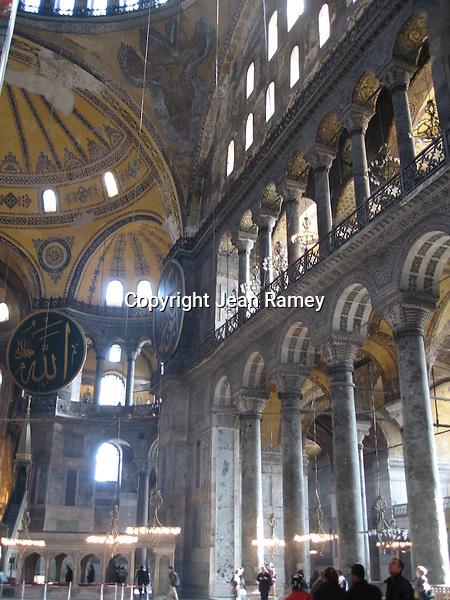 Aya Sofia museum highlights its Christian & Islam history