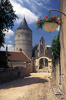 castle, France, Chateaudun, Eure-et-Loir, Europe, 12th century castle in Chateaudun.